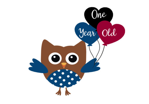 Print on Demand: Baby Owl 1 Year of Baby Milestones Graphic Illustrations By CapeAirForce - Image 2