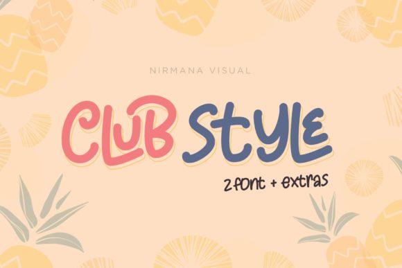 Print on Demand: Club Style Display Font By Sigit Dwipa