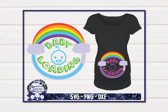 Rainbow Baby Graphic By Kayla Griffin Creative Fabrica