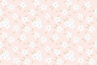 Sweet Pink Flower Seamless Pattern Graphic By thanaporn.pinp
