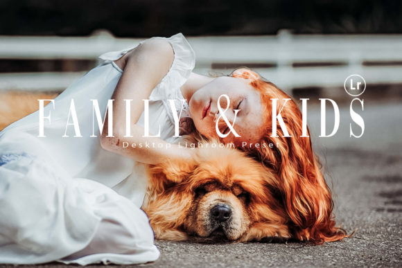 10 Family & Kids Photoshop Actions, ACR Graphic By 3Motional