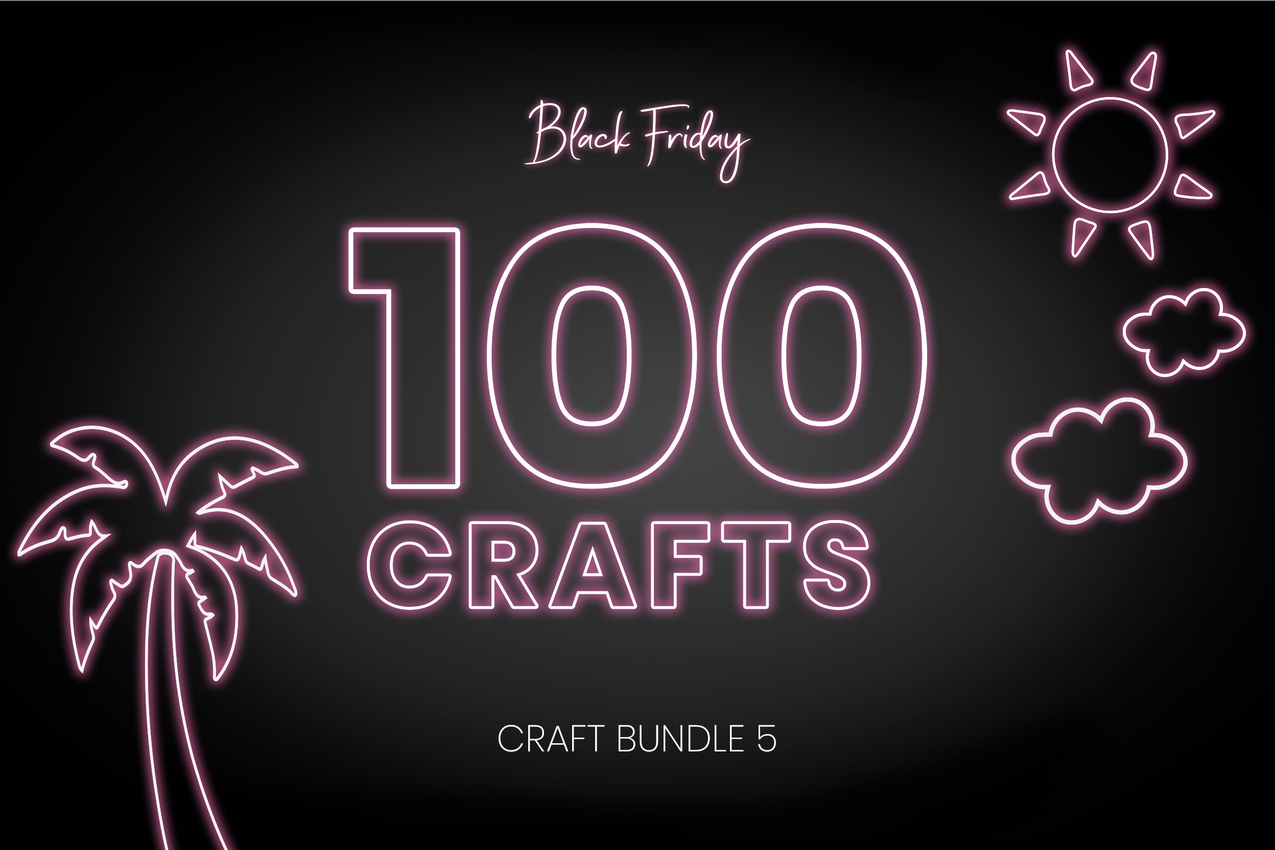 Download Free Black Friday Craft Bundle 5 Bundle Creative Fabrica for Cricut Explore, Silhouette and other cutting machines.