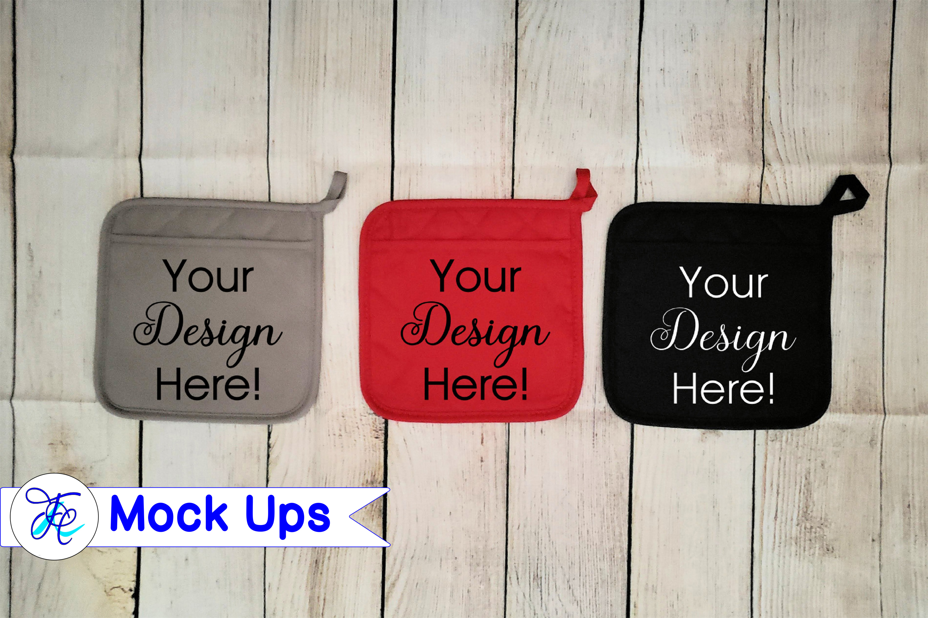 Download Free Pot Holder Mock Ups Graphic By Family Creations Creative Fabrica for Cricut Explore, Silhouette and other cutting machines.