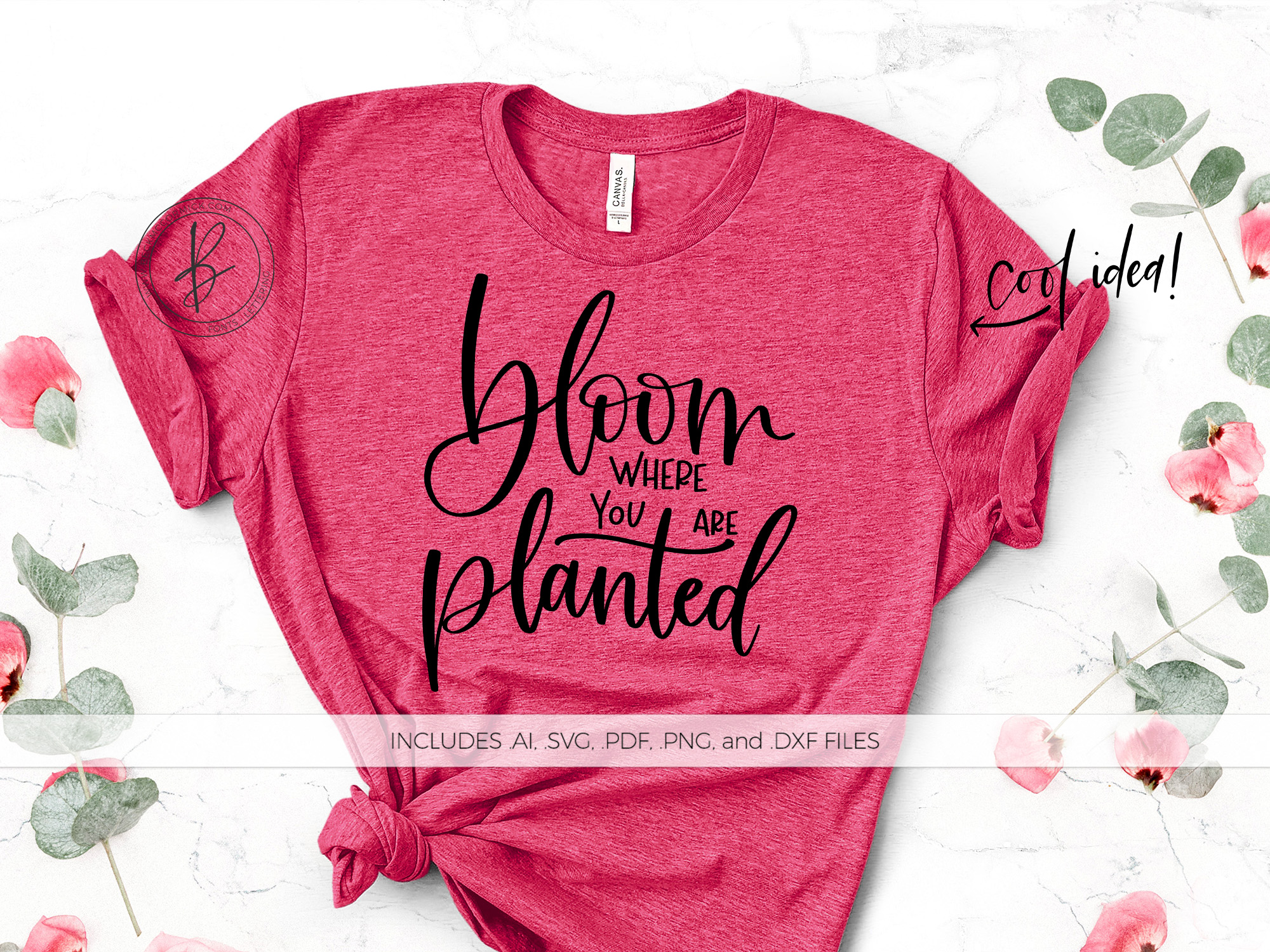 Bloom Where You Are Planted Graphic By Beckmccormick Creative