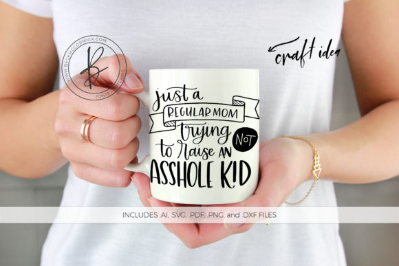 Print on Demand: Just a Regular Mom ... Kid Graphic Crafts By BeckMcCormick
