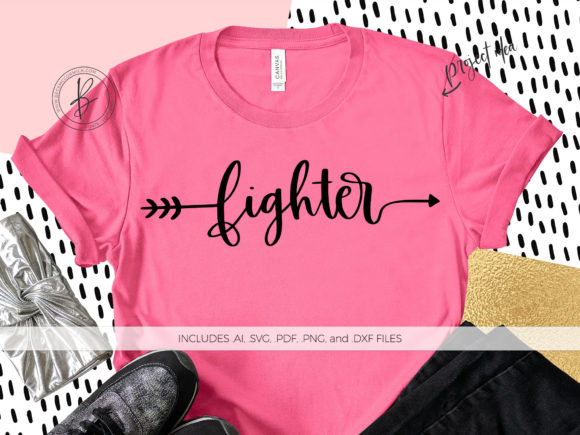 Print on Demand: Fighter Arrow Graphic Crafts By BeckMcCormick