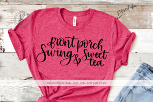 Front Porch Swing & Sweet Tea Graphic By BeckMcCormick