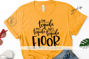 One Tequila Two Tequila ... Floor Graphic By BeckMcCormick
