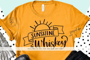 Sunshine and Whiskey Graphic By BeckMcCormick