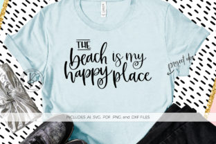 The Beach is My Happy Place Graphic By BeckMcCormick