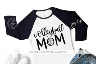 Volleyball Mom Graphic By BeckMcCormick