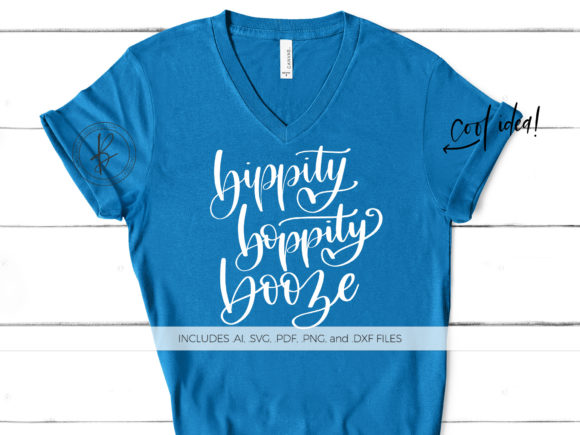Print on Demand: Bippity Boppity Booze Graphic Crafts By BeckMcCormick