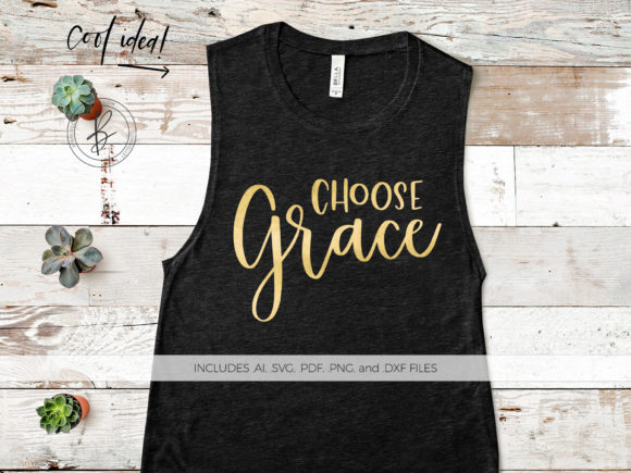 Print on Demand: Choose Grace Graphic Crafts By BeckMcCormick