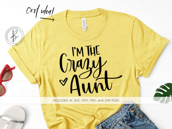 Print on Demand: Crazy Aunt Graphic Crafts By BeckMcCormick