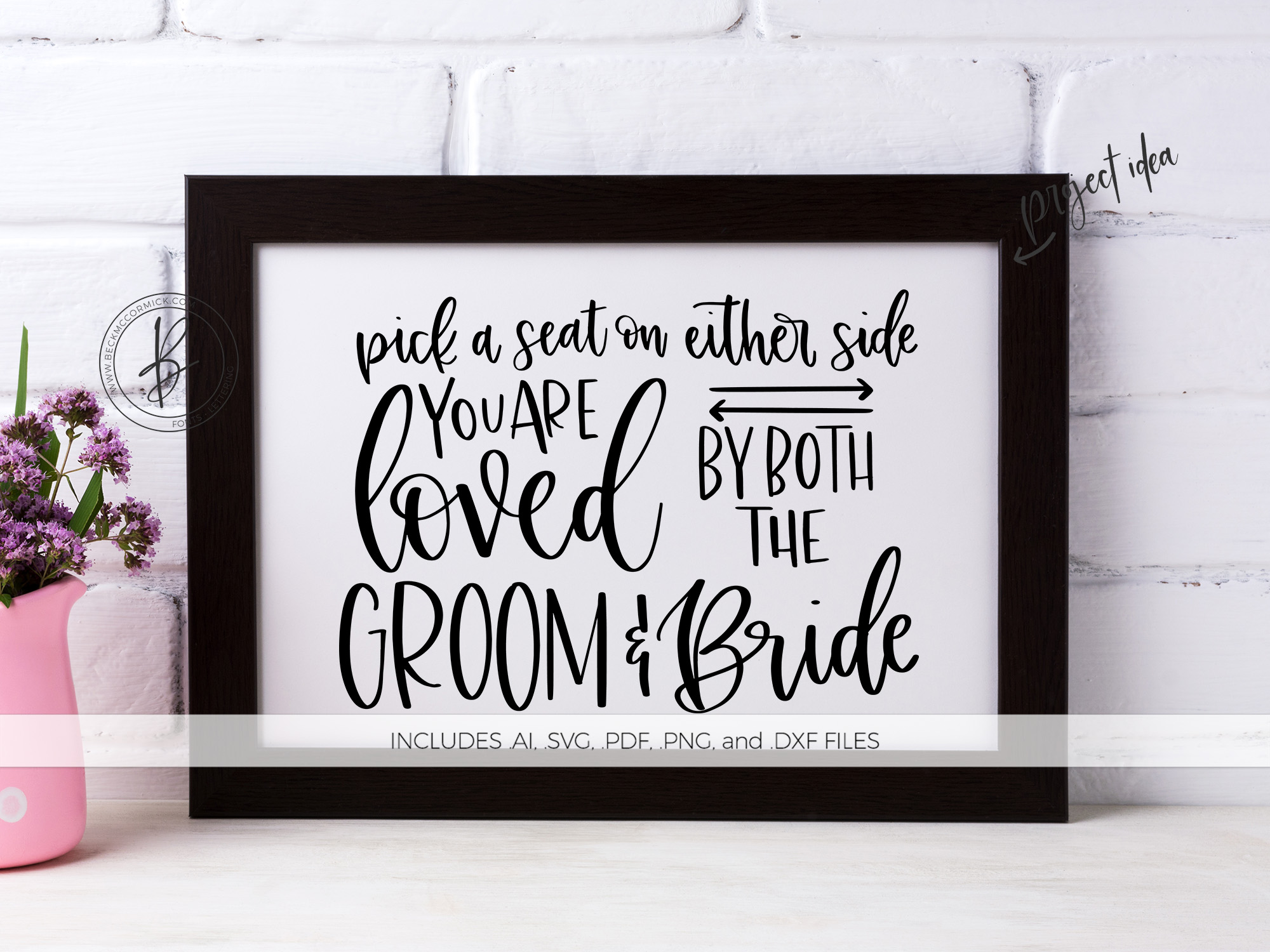 Download Free Pick A Seat Wedding Graphic By Beckmccormick Creative Fabrica for Cricut Explore, Silhouette and other cutting machines.