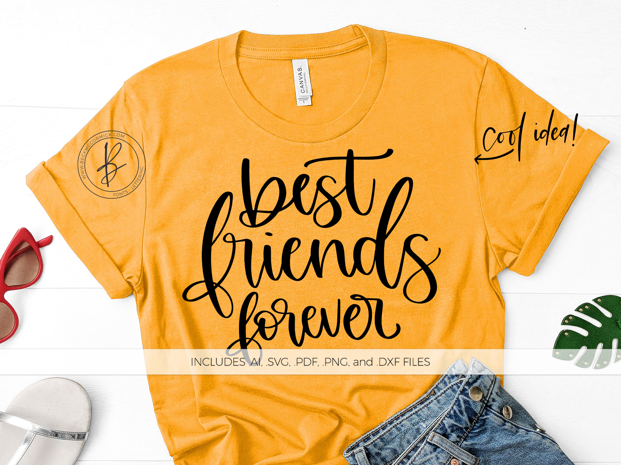 Best Friends Forever Graphic By Beckmccormick Creative Fabrica