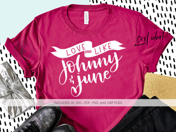 Print on Demand: Love Like Johnny and June Graphic Crafts By BeckMcCormick