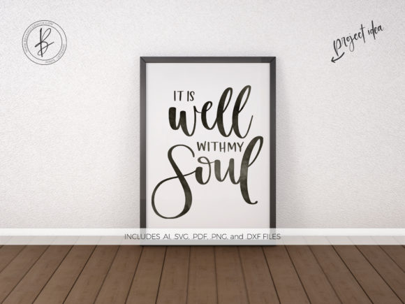 Print on Demand: It is Well with My Soul Graphic Crafts By BeckMcCormick