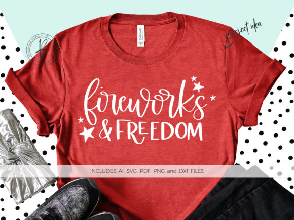 Print on Demand: Fireworks and Freedom Graphic Crafts By BeckMcCormick