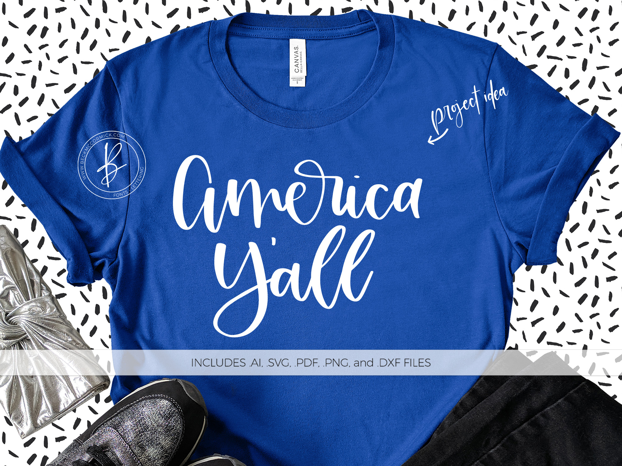 Download Free America Y All Grafico Por Beckmccormick Creative Fabrica for Cricut Explore, Silhouette and other cutting machines.