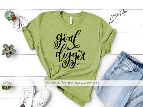 Print on Demand: Goal Digger Graphic Crafts By BeckMcCormick