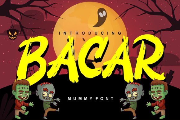 Print on Demand: Bacar Script & Handwritten Font By Vunira