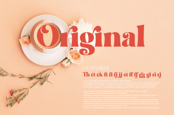 Print on Demand: Restgold Display Font By Great Studio - Image 10