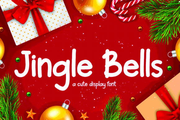 Print on Demand: Jingle Bells Display Font By Letterdreams - Image 1