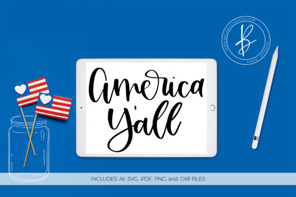 Download Free America Y All Grafico Por Beckmccormick Creative Fabrica SVG Cut Files