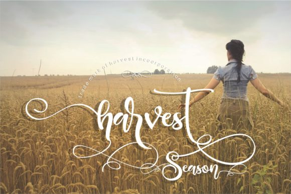 Print on Demand: Blessing Script & Handwritten Font By creativework69 - Image 2