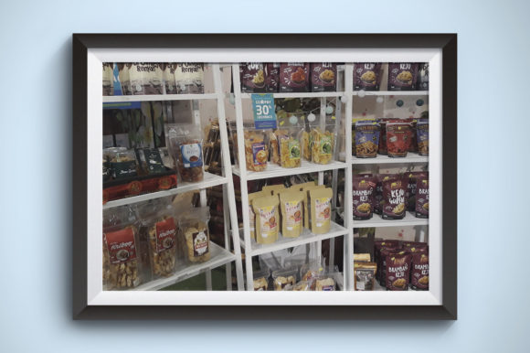 Snacks Rack Graphic Food & Drinks By Kerupukart Production