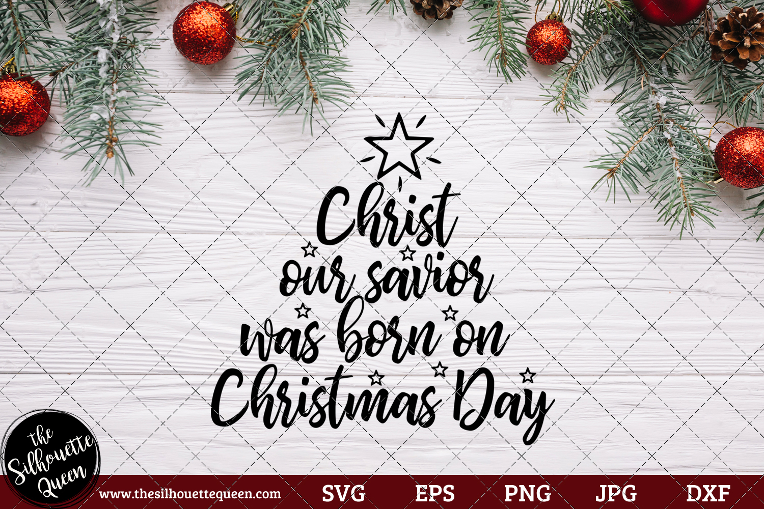 Download Free Remember Christ Our Savior Was Born Graphic By for Cricut Explore, Silhouette and other cutting machines.