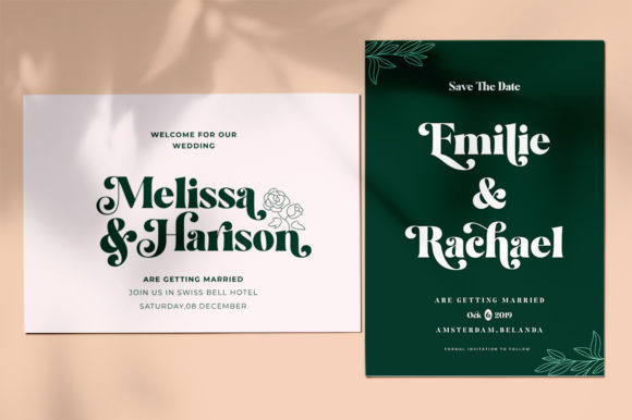 Print on Demand: Restgold Display Font By Great Studio - Image 9
