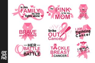Print on Demand: Bundle Breast Cancer Awereness Graphic Illustrations By Arief Sapta Adjie