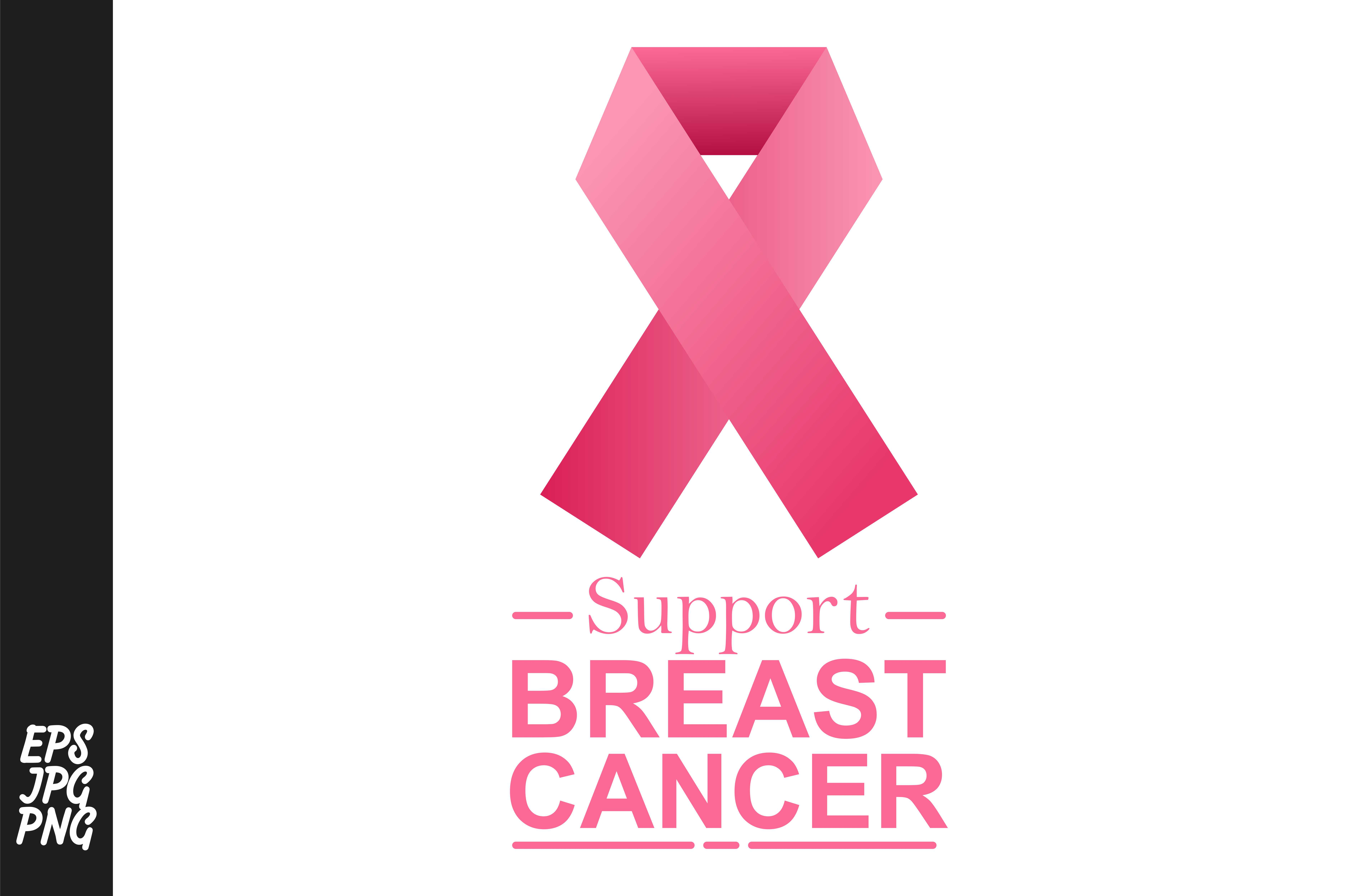 Download Free Breast Cancer Graphic By Arief Sapta Adjie Creative Fabrica for Cricut Explore, Silhouette and other cutting machines.