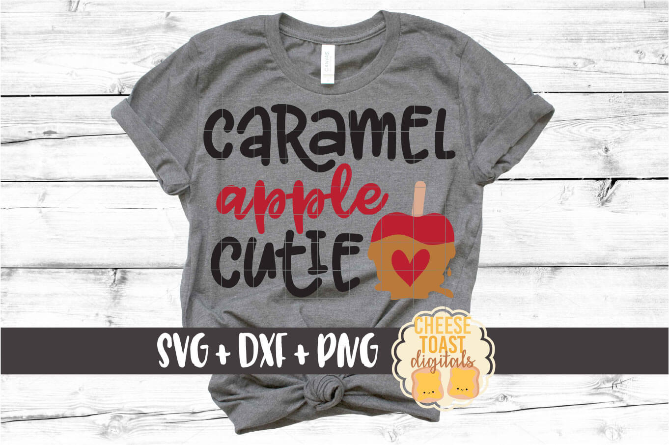 Download Free Caramel Apple Cutie Graphic By Cheesetoastdigitals Creative for Cricut Explore, Silhouette and other cutting machines.