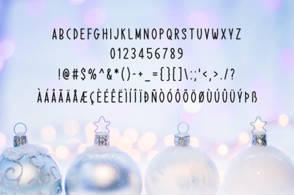 Print on Demand: Christmas Morning Script & Handwritten Font By Instagram Fonts - Image 4