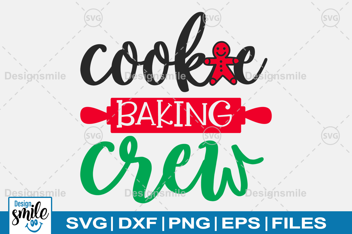 Download Free Cooke Baking Crew Svg Graphic By Designdealy Com Creative Fabrica for Cricut Explore, Silhouette and other cutting machines.