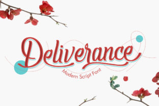 Print on Demand: Deliverance Script & Handwritten Font By Nico Muslib