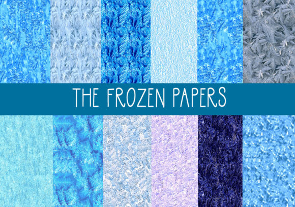 Print on Demand: The Frozen Papers Graphic Patterns By CapeAirForce