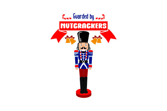 Download Free Guarded By Nutcrackers Svg Cut File By Creative Fabrica Crafts for Cricut Explore, Silhouette and other cutting machines.