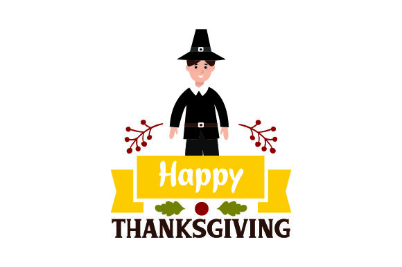 Happy Thanksgiving Thanksgiving Craft Cut File By Creative Fabrica Crafts