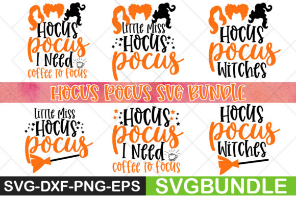 Print on Demand: Hocus Pocus Graphic Print Templates By svgbundle.net