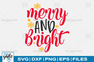 Print on Demand: Merry and Bright Graphic Crafts By Designdealy