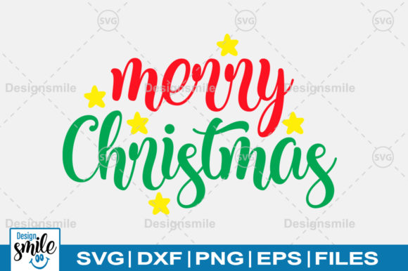 Download Free Merry Christmas Svg Graphic By Designdealy Com Creative Fabrica SVG Cut Files