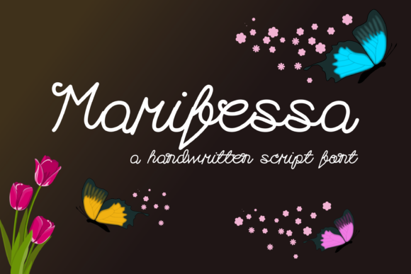 Print on Demand: Marifessa Script & Handwritten Font By Pinoyartkreatib