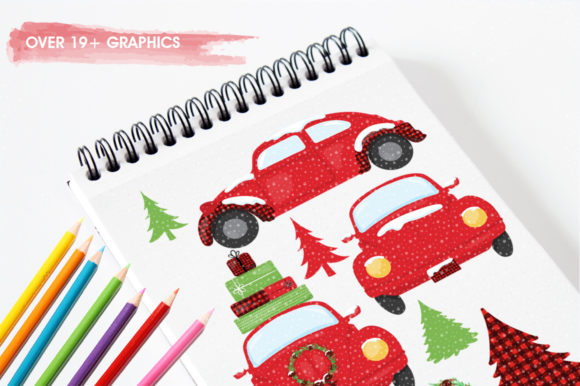 Print on Demand: Christmas Pine Tree Graphic Illustrations By Prettygrafik - Image 3