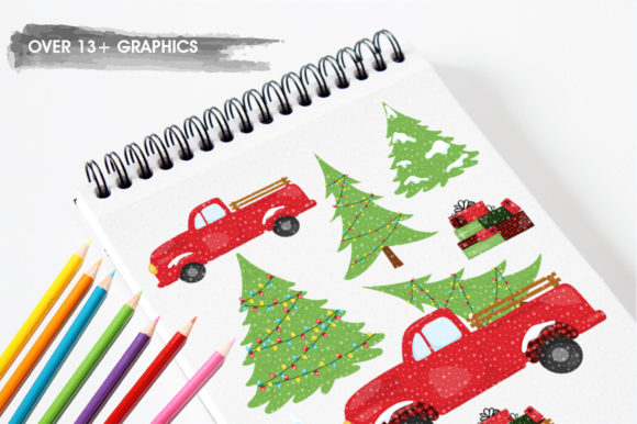 Download Free Christmas Tree Graphic By Prettygrafik Creative Fabrica for Cricut Explore, Silhouette and other cutting machines.