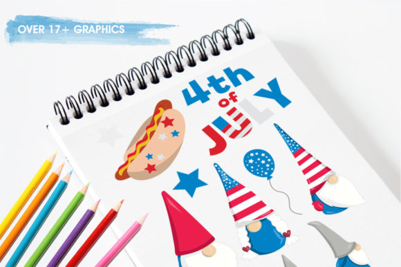 Print on Demand: Gnome Graphic Illustrations By Prettygrafik - Image 3