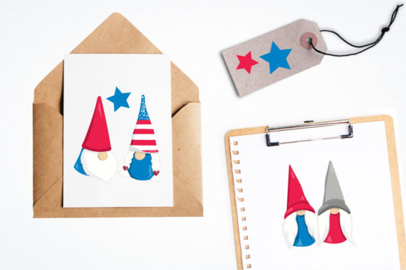 Print on Demand: Gnome Graphic Illustrations By Prettygrafik - Image 4